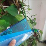 플라스틱 시제품을%s 파란 담채 폴리탄산염 장