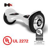 Uno mismo elegante de la rueda de la pulgada 2 de Hx Patend 10 que balancea Hoverboard con la batería de Bluetooth Samsung