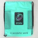 Sac d'emballage de cordon avec l'impression faite sur commande de logo (LJ-200)