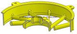 A Três-Placa morre o molde de carcaça, morre o trabalho feito com ferramentas da carcaça, impressão morre