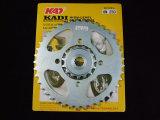 Pieza de la motocicleta del piñón de los recambios de la motocicleta del Kadi