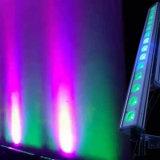 14PCS 10W RGBW 4in1 LED Wand-Unterlegscheibe-Licht IP65 für im Freienpixel-Stab