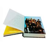 Livre excentré d'impression de livre À couverture dure de Casebound (OEM-HC021)