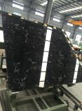 Новая плитка сляба мрамора черного льда