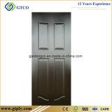 内部ドアの/3mmの白い形成された皮のドアのための2/4/6のパネル白いHDFの皮のドア