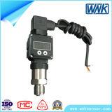 4-20mA nivelam o transmissor de pressão do diafragma para a aplicação de Sanitray