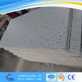 Plafond de gypse stratifié par vinyle de tuile de plafond de gypse de PVC