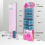 Estante de visualización del metal del diseño de la mejora de Goodlife para la joyería y los cosméticos del almacén