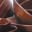 "100% melamina Dinnerware- ""Oribe"" Serie Soup Bowl (AMA69)"