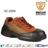 Новые стильные кожаный ботинки работы безопасности отрезока низкого уровня людей