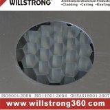 El panel de aluminio del panal del revestimiento de la pared