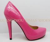 Nouvelle chaussure de robe de femme de brevet du modèle 2013 (YMD002038-05)