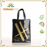 Sacchetto personalizzato Harrods lucido su ordine del Tote del cliente del sacchetto di acquisto del vinile del PVC