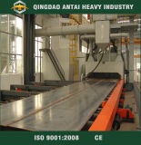 Passar Through Type Shot Blasting Machine com Roller Conveyor
