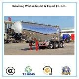 40cbm Semi Aanhangwagen van de Lading van het Vervoer van het Cement van het Aluminium van 3 As de Bulk