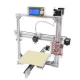 Imprimante 3D de bureau de bâti en métal de DIY avec l'affichage à cristaux liquides et les tailles facultatifs