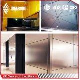 ISO y SGS Certificado precio de fábrica más bajo PE revestimiento de aluminio Panel de pared