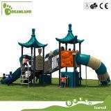 2017 Apparatuur van de Speelplaats van de Jonge geitjes van de Kleuterschool van de Fabrikant van China de Plastic Openlucht