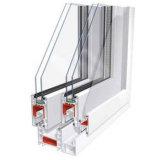 Dubbel Isolerend de schuine stand-Draai van het Glas UPVC Venster