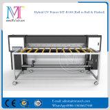 1.8m Flatbed e rolo para rolar a impressora UV do diodo emissor de luz