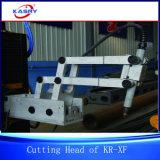 Rohr-Gefäß-Träger-Scherblock-Nut-Ausschnitt-Maschine des Metallkr-c$xf