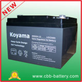 12V 24ahのUPS/Surgeの保護装置のための深いサイクルのゲル電池