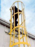 FRP Profiel, Leuning FRP, Bouwmateriaal, de Ladder van de Vloer, Gekooide FRP
