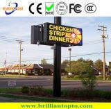 Panneau extérieur de signe d'Afficheur LED de Chruch P10, écran ouvert de l'avant DEL