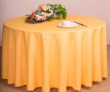 Restaurante ou pano de tabela usado hotel do poliéster de linho de tabela