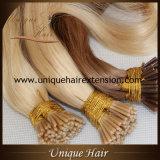 Dobro brasileiro de Remy desenhado eu derrubo extensões do cabelo da queratina