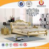 중국 가죽 침대 현대 거실 가구 침대 세트 (UL-BH6001)