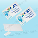 USB Flash Drive di Card Custom dell'aliante con Full Color Print Logo (ALP-029U-7)