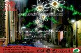 Luz al aire libre de la decoración del día de fiesta de la calle del LED