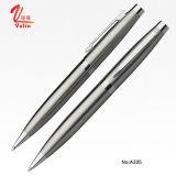 Penna promozionale dell'acciaio inossidabile della penna dell'elemento del metallo caldo di vendita su vendita