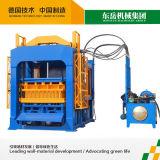 Tijolo automático do cimento que faz a planta (QT10-15)