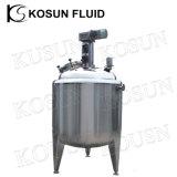 Cuve de fermentation de mélange de yaourt industriel d'acier inoxydable