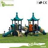 Glissière en plastique petite aire de jeux extérieure pour les enfants Aire de jeux
