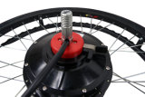 180W de Elektrische Uitrusting van de Omzetting van de Motor van de Hub van de Rolstoel van het Controlemechanisme van de Bedieningshendel 24inch met 16ah Batterij