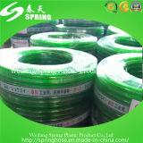 Mangueira flexível verde da água do jardim do PVC