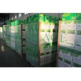 A película do envoltório da ensilagem da cor verde, 250mm*25mic*1800m, 3 camadas Co-Expulsou película, película do molde de sopro LLDPE