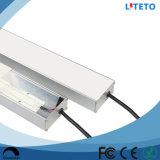 방수 IP65 백색 LED 선형 플라스틱 덮개 세 배 증거 관