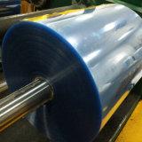 Strati trasparenti rigidi del PVC di stampa in offset della tinta 0.2mm del turchese