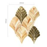 Mattonelle di mosaico di vetro di arte del nuovo di disegno della casa della cucina oro della decorazione
