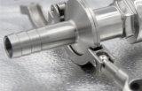 Het sanitaire Gealigneerde Vastgeklemde HandType van Roestvrij staal van de Kogelklep SS304