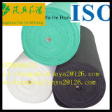 El alto algodón de la elasticidad calza el material