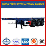 Cimc 40FT 2/3 do eixo do recipiente de reboque Flatbed Semi