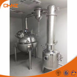 Evaporador aire acondicionado de la bebida del tanque de la concentración del vacío del zumo de fruta del acero inoxidable para el proceso de la leche