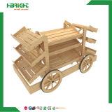 خشبيّة عربة شكل مخبز عرض عربة