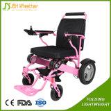 Portable di capienza di caricamento 180kg che piega la sedia a rotelle resa non valida di energia elettrica