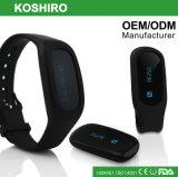 Fascia di manopola astuta del pedometro di caloria di Bluetooth 3D con la clip libera della cinghia